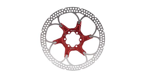 Formula Bremsscheibe 6-Loch zweiteilig rot
